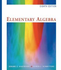 "Elementary Algebra, Revised (with Interactive Video Skillbuilder CD-ROM and iLrnâ""¢ Student Tutorial Printed Access Card) 8th edition 9781439045862 1439045860"