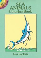 Sea Animals Coloring Book 0 9780486277295 0486277291
