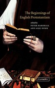 The Beginnings of English Protestantism 0 9780521802741 0521802741