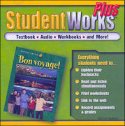 Bon voyage! Level, 2, StudentWorks Plus CD-ROM 1st edition 9780078686580 007868658X
