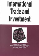 International Trade and Investment in a Nutshell 2nd edition 9780314240941 0314240942