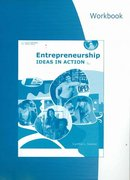 Workbook for Greene's Entrepreneurship: Ideas in Action 4th edition 9780538446167 0538446161