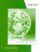 Study Guide for Stewart/Redlin/Watson/Panman's College Algebra: Concepts and Contexts 1st edition 9780495387916 0495387916
