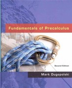Fundamentals of Precalculus plus MyMathLab Student Access Kit 2nd Edition 9780321566676 032156667X