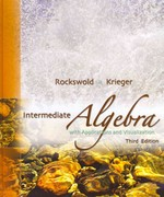 Intermediate Algebra with Applications and Visualization Plus MyMathLab Student Access Kit 3rd edition 9780321566829 0321566823