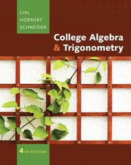 College Algebra and Trigonometry plus MyMathLab Student Access Kit 4th edition 9780321567574 0321567579