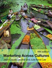 Marketing Across Cultures 5th edition 9780273713913 0273713914