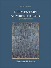 Elementary Number Theory 6th edition 9780321500311 0321500318