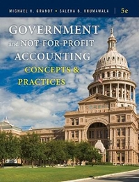 Government and Not-for-Profit Accounting 5th Edition 9780470390788 0470390786