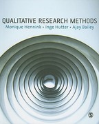 Qualitative Research Methods 1st Edition 9781412922265 1412922267