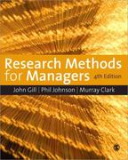 Research Methods for Managers 4th edition 9781847870940 1847870945