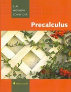 Precalculus plus MyMathLab Student Access Kit 4th edition 9780321567543 0321567544