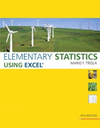 Elementary Statistics Using Excel plus MyStatLab Student Access Kit 4th edition 9780321565006 0321565002