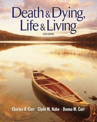Death and Dying 6th edition 9780495506461 049550646X