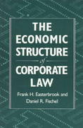 The Economic Structure of Corporate Law 0 9780674235397 0674235398