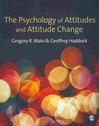The Psychology of Attitudes and Attitude Change 1st Edition 9781412929752 141292975X