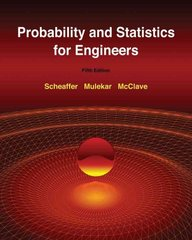 Probability and Statistics for Engineers 5th Edition 9780534403027 0534403026