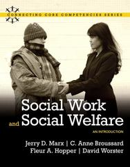 Social Work and Social Welfare 1st edition 9780205502295 0205502296
