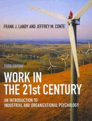 Work in the 21st Century 3rd edition 9781405190251 1405190256
