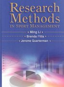 Research Methods in Sport Management 1st Edition 9781885693853 1885693850