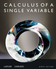 Calculus of a Single Variable 9th edition 9780547209982 0547209983
