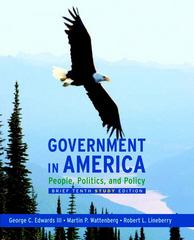 Government in America 10th edition 9780205662883 0205662889