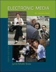 Electronic Media: An Introduction 10th Edition 9780073378862 0073378860