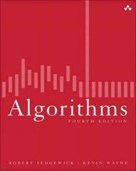 Algorithms 4th Edition 9780132762557 0132762552