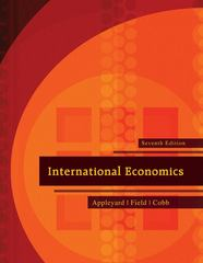 International Economics 7th edition 9780073511344 007351134X