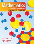 Math for Elementary Teachers: A Conceptual Approach with Manipulative Kit Mathematics for Elementary Teachers 8th Edition 9780077297930 0077297938