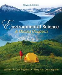 Environmental Science: A Global ConcernEnvironmental Science: A Global Concern 11th Edition 9780073383217 007338321X
