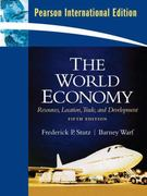 The World Economy 5th edition 9780135068762 0135068762