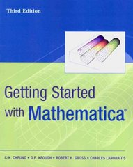 Getting Started with Mathematica 3rd Edition 9780470456873 0470456876