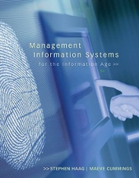 Management Information Systems for the Information Age 8th edition 9780073376783 0073376787