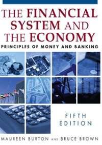 Financial System of the Economy 5th Edition 9780765622464 0765622467