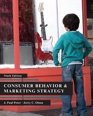 Consumer Behavior 9th Edition 9780073404769 0073404764