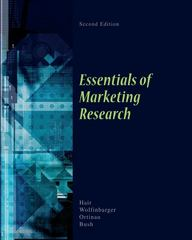 Essentials of Marketing Research 2nd edition 9780073404820 0073404829