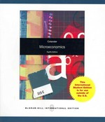 Microeconomics 8th edition 9780070183353 007018335X