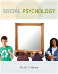 Social Psychology 10th edition 9780073370668 0073370665