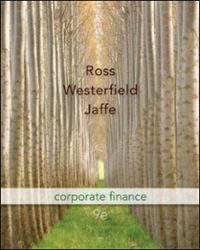 Corporate Finance 9th Edition 9780073382333 0073382337