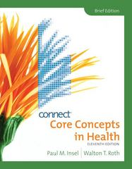 Core Concepts in Health, Brief 11th edition 9780073380780 0073380784