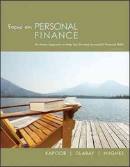 Focus on Personal Finance 3rd Edition 9780073382425 0073382426