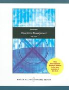 Operations Management 10th edition 9780070091771 0070091773