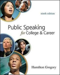 Public Speaking for College and Career 9th edition 9780073385167 0073385166