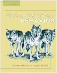Organizational Behavior 9th edition 9780073530451 007353045X