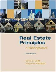 Real Estate Principles 3rd Edition 9780073377322 0073377325