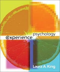Experience Psychology 1st edition 9780073405476 0073405477