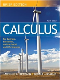 Calculus for Business, Economics, and the Social and Life Sciences, Brief 10th Edition 9780077292737 0077292731