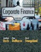 Corporate Finance, Canadian Edition 0 9780321557049 0321557042