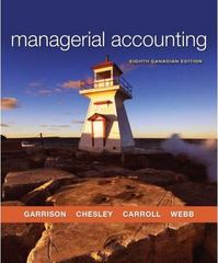 Managerial Accounting 8th edition 9780070980822 0070980829